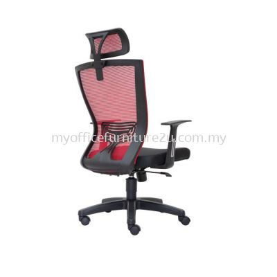 D2975H Will Mesh Director Chair Pu Leather