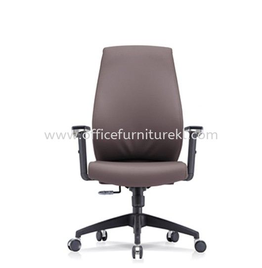 SENSE 3 EXECUTIVE MEDIUM BACK CHAIR WITH NYLON ROCKET BASE MB