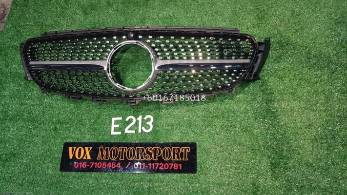 w213 diamond grille fit for mercedes benz w213 e class replace upgrade performance look brand new set