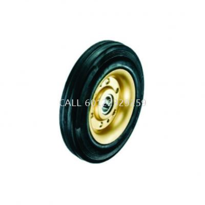 Single bearing Rubber Wheel