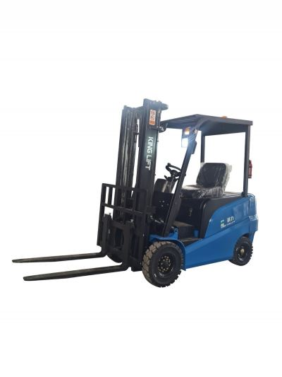2000 Kg Outdoors and Indoors Electric Counterbalance Forklift Four-Wheel