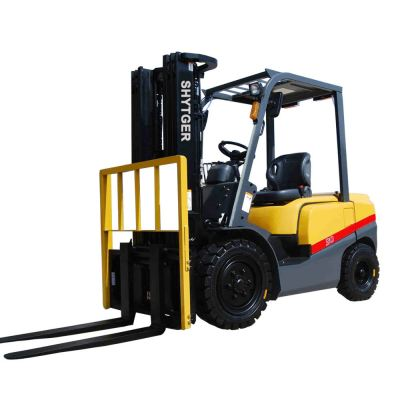 3ton Diesel Forklift with Attachment Paper Clamps (FD30T)
