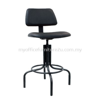T439 Typist Production Chair Pu Leather