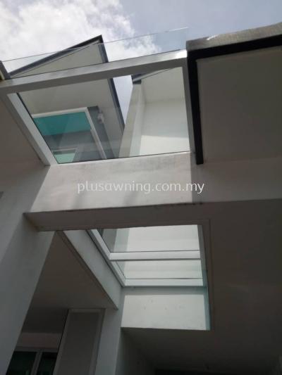 Glass Roofing @Jalan Tropicana Height 2/3, Kajang 2, Selangor