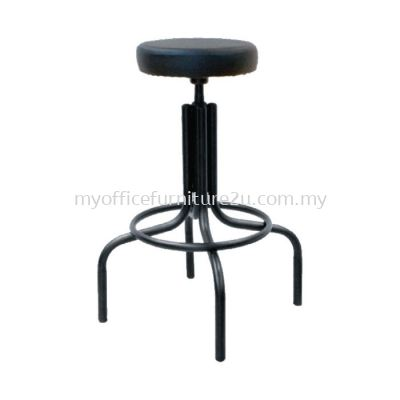 T441 Typist Barstool High Chair Pu Leather