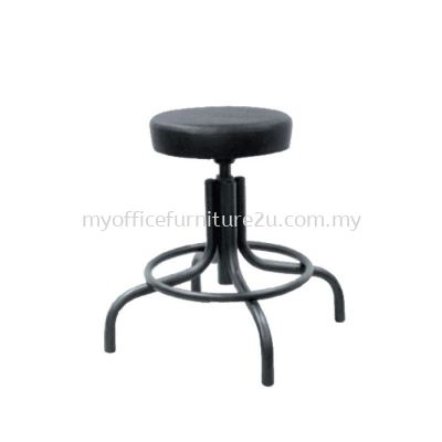 T442 Typist Barstool Low Chair Pu Leather
