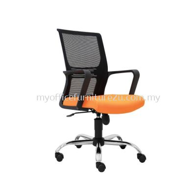L3031H- Wiffy Mesh Executive Chair Pu Leather