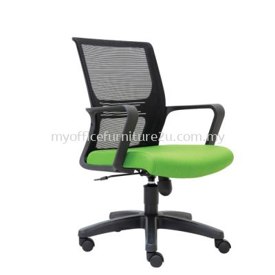 L3032H Wiffy Mesh Executive Chair Pu Leather