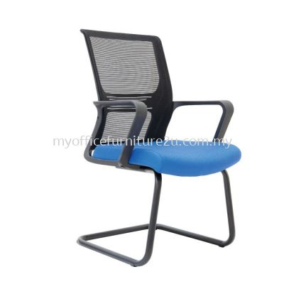 V3033S Wiffy Mesh Visitor Chair Pu Leather