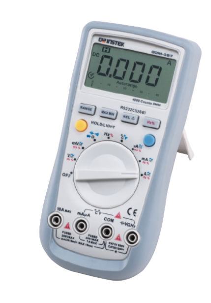 GW INSTEK GDM-400 & GDM-300 Handheld Digital Multimeter