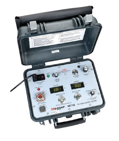 MEGGER MIT30 SERIES Insulation and Continuity Testers