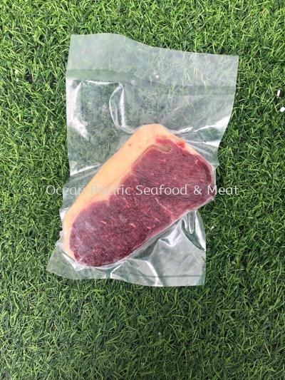 Aust Beef Striploin (200g+-/pkt)