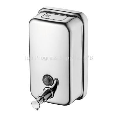Stainless Steel Soap Dispenser 1250ml C/W Polish Or Hairline Finish