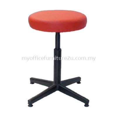 B785E Barstool Low Chair Pu Leather