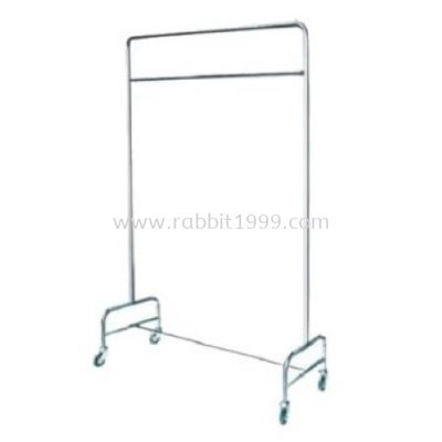 STAINLESS STEEL LINEN HANGING TROLLEY - LHT-300/SS