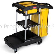 9T72 High Capacity Cleaning Cart