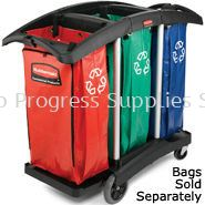 9T92 Triple Capacity Cleaning Cart