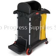 9T75 High Security Cleaning Cart