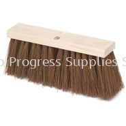 9B21 Street Broom, Hardwood Block, Polypropylene Fill