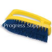 6482 Iron Handle Scrub Brush, Polypropylene Fill