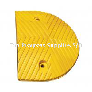 RUBBER HUMP END PIECE (RECYCLE RUBBER)