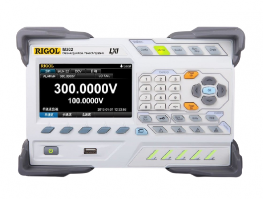 RIGOL M302 Data Acquisition Mainframe with DMM Module
