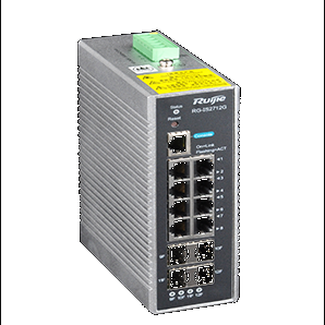RG-IS2712G-DC. Ruijie 8-port 10/100/1000BASE-T, 4-port 100/1000BASE-X SFP (non- combo)