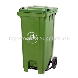 TPS120 Liter Two Wheel Bins With Slep On