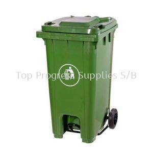 TPS240 Liter Two Wheel Bins With Slep On