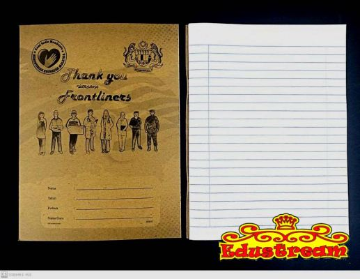 Single Line Exercise Book 80 Pages