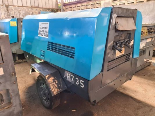 Used AIRMAN 185CFM Air Compressor