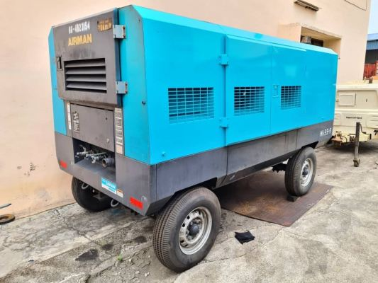 Used AIRMAN 655CFM Air Compressor