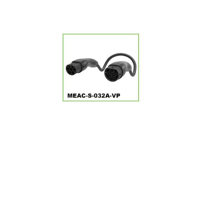DEGSON - MEAC-S-032A-VP IEC AC CHARGING CONNECTOR PLUGS