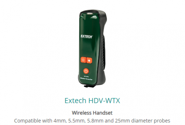 Extech HDV-WTX Wireless Handset