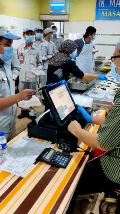 CASHLESS CANTEEN POS SYSTEM