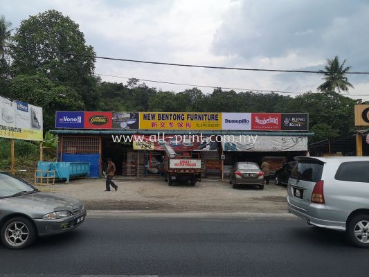 lightbox signage- new bentong Furniture