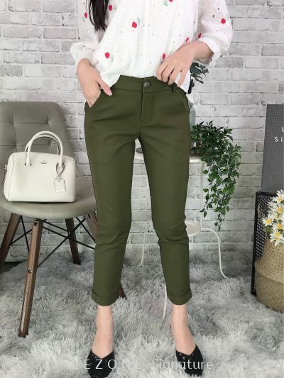 394553 Pocket Detail Long Pant