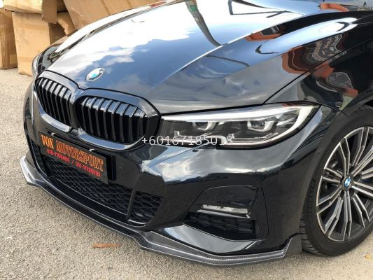 g20 3 series m performance front lip diffuser carbon fiber for bmw g20 m sport add on upgrade performance look brand new set