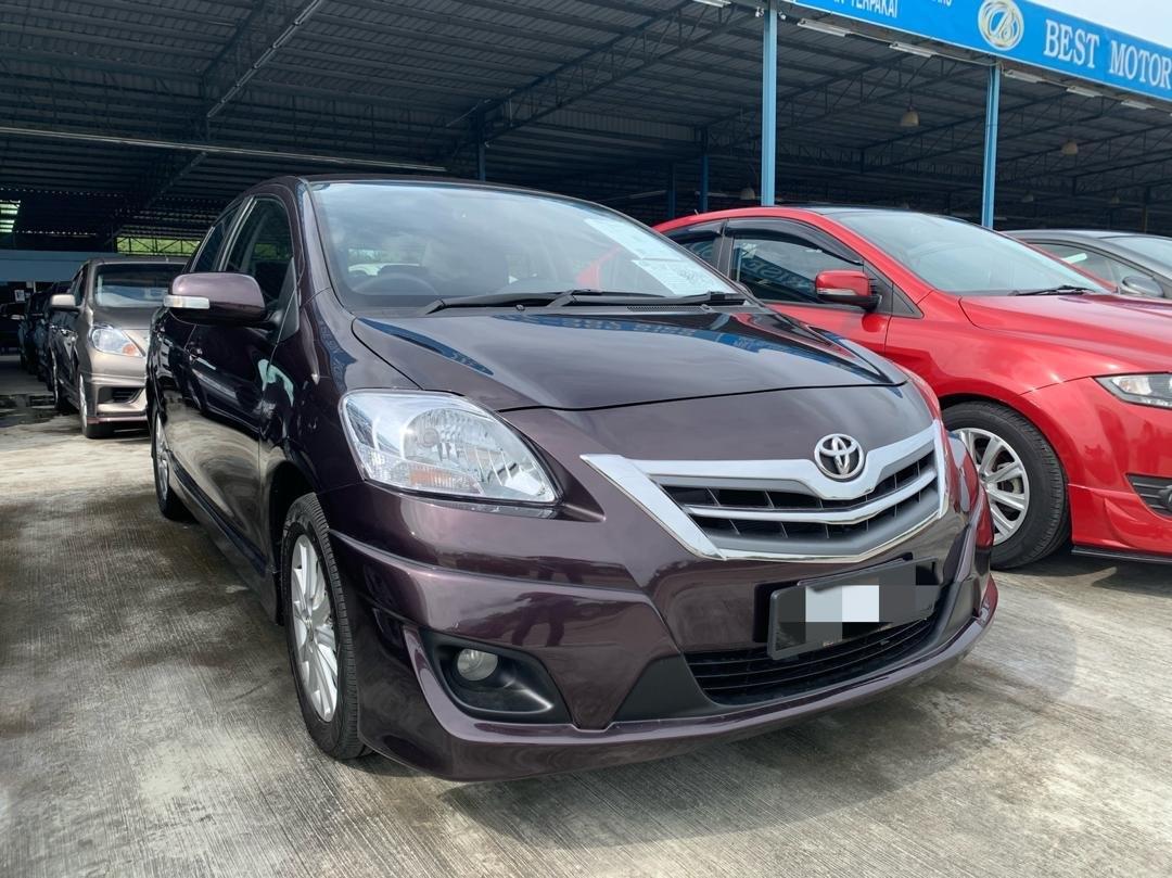 2012 Toyota VIOS 1.5 E FACELIFT (A)