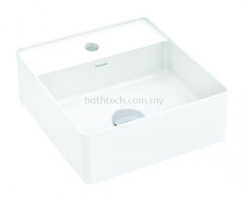 Venezia Slim Square Countertop Basin-1TH