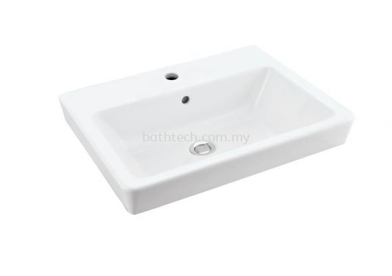 Bergamo Square Wall Hung Basin