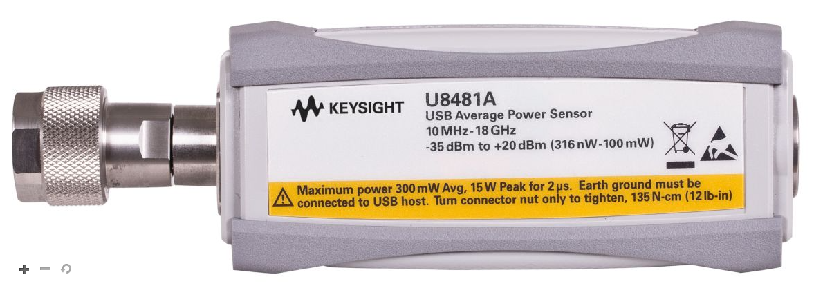 KEYSIGHT U8481A DC/10MHz - 18GHz USB Thermocouple Power Sensor