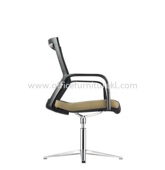 MAXIM VISITOR ERGONOMIC MESH CHAIR WITH ALUMINIUM BASE AMX 8113N-A