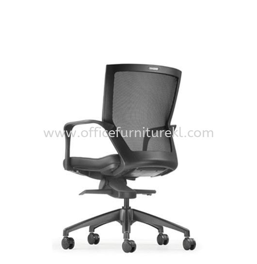 MAXIM LOW BACK ERGONOMIC MESH CHAIR WITH ROCKET NYLON BASE AMX8112L-20A69