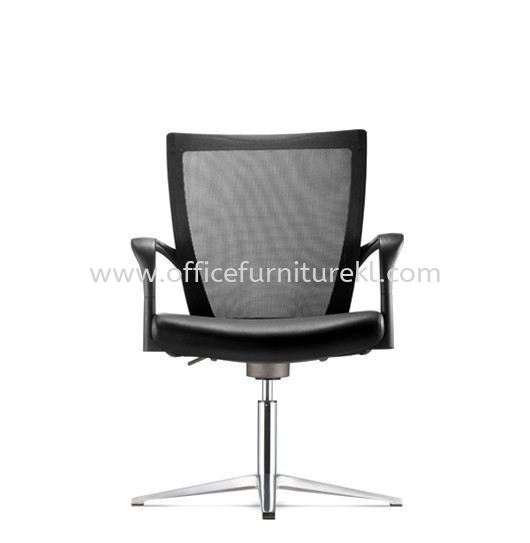 MAXIM VISITOR ERGONOMIC MESH CHAIR WITH ALUMINIUM BASE AMX8113L-90CA69