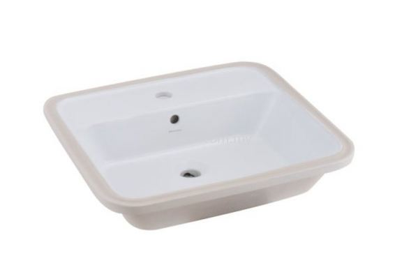 Gemelli Rectangular Undercounter Basin-1TH
