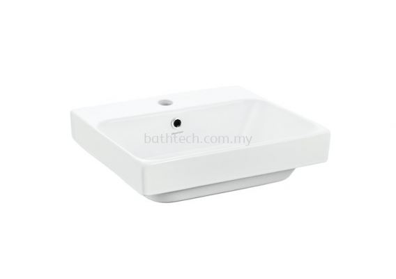 Gemelli Rectangular 450 Semi Insert Basin-1TH