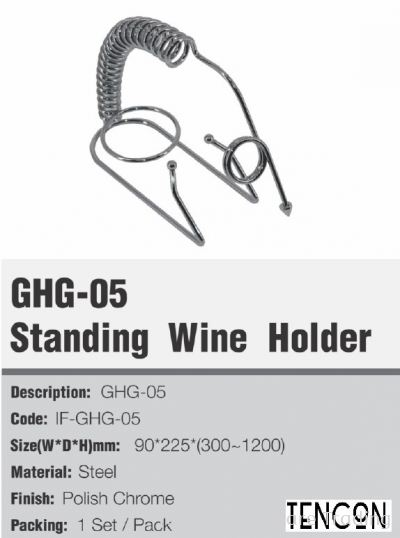 GHG-05 Standing Wine Holder