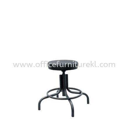 LOW PRODUCTION STOOL WITH EPOXY BLACK METAL BASE PS1-1