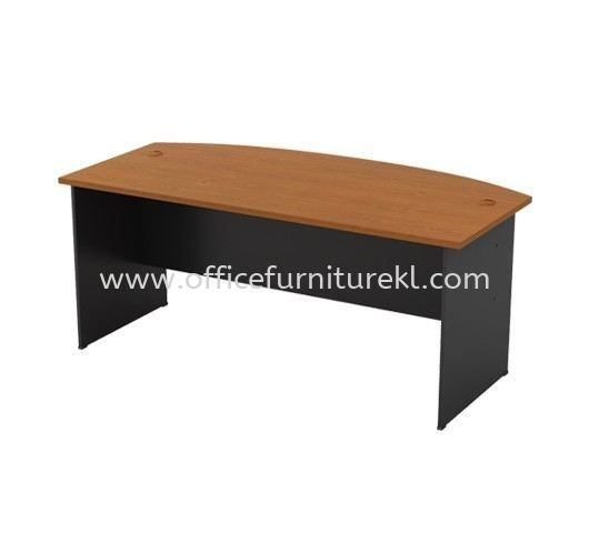 EXECUTIVE TABLE WITH WOODEN BASE GMB 180A